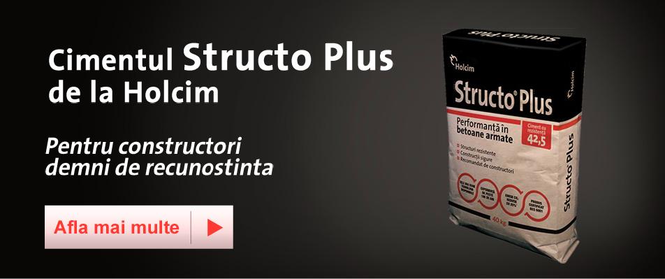 Cimentul Structo Plus